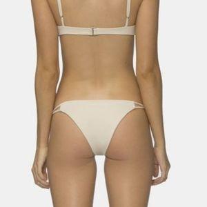 TAVIK NWT Asher Cream Bikini Bottoms Size Large L